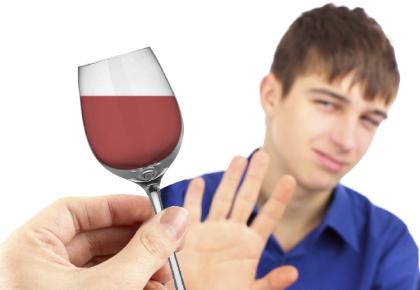 El guión de las medidas sobre el daño del alcoholismo