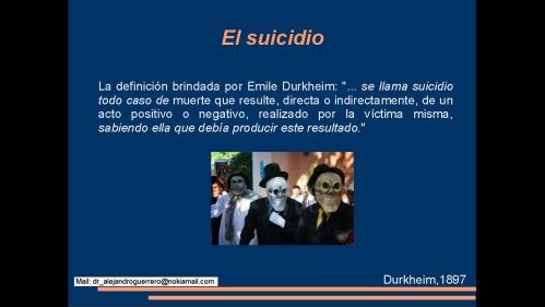 suicidio en medicos y enfermeras 2013  secretaria de salud 2