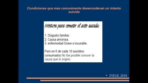 suicidio en medicos y enfermeras 2013  secretaria de salud 25