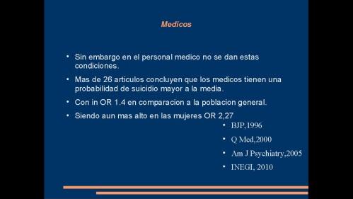 suicidio en medicos y enfermeras 2013  secretaria de salud 26