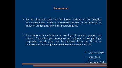 TRASTORNO POR ESTRES POST TRAUMATICO 19