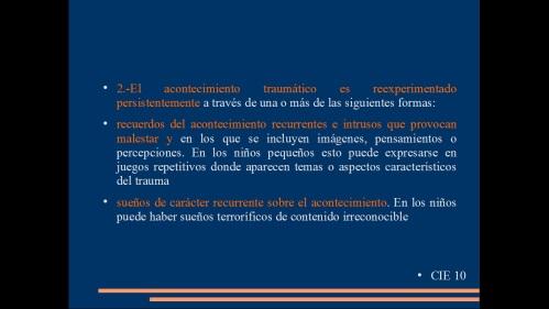 TRASTORNO POR ESTRES POST TRAUMATICO 7